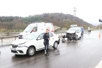 ABANT - Bolu'da Zincirleme Trafik Kazası Açıklaması 5 Yaralı