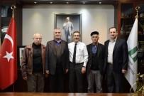 CAMİ İMAMI - Cami Derneklerinden Başkan Ataç'a Ziyaret