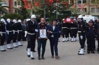 Derede Kaybolan Ve Bugün Cansız Bedenine Ulaşılan Şehit Polis Memuru İçin Tören Düzenlendi