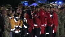 GAZİANTEP HAVALİMANI - Gaziantep'te Şehit UMKE Görevlisi İçin Tören
