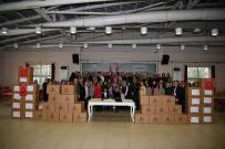 İÇ ÇAMAŞIRI - Kartep'de Afrin Kahramanlarına Destek Bitmiyor