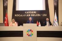ALI ERDOĞAN - Kocasinan Belediyesinde Nisan Ayı Meclis Toplantısı Yapıldı