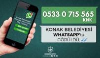 ALSANCAK - Konak Belediyesi Whatsapp'ta