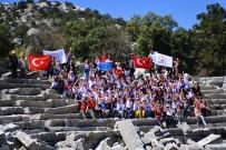 ERMENEK - Öğrencilere Termessos Antik Kentinde İzcilik Eğitimi