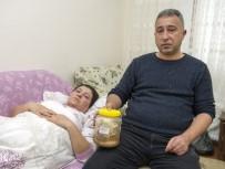 ANTIDEPRESAN - (Özel) Kanser Olabilirsin Denildi, Karnından Kavanoz Dolusu Gazlı Bez Çıktı