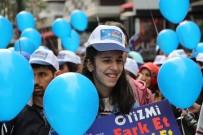 OSMAN KAYMAK - Samsun'da Otizmliler İçin Farkındalık Yürüyüşü