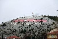 Yozgat'ta Nisan Ayında Kar Yağdı