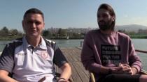 FILDIŞI SAHILLERI - Yunan Futbolcu Türkiye'de Olmaktan Mutlu