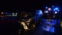 Ağrı'da Kamyonet İle Hafif Ticari Araç Çarpıştı Açıklaması 4 Ölü, 3 Yaralı