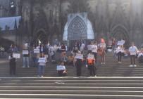 GRUP GENÇ - Almanya'da 'Irkçılığa Yer Yok' Eylemi