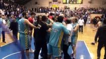 EDIRNESPOR - Basketbol Maçında Olaylar Çıktı