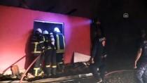 İNSUYU - Burdur'da Ev Yangını