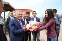 OKUL MÜDÜRÜ - Büyükkılıç, Şehit Saim Çelik Mesleki Ve Teknik Anadolu Lisesi'nin Kariyer Günleri Konuğu Oldu