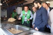 TÜRK SILAHLı KUVVETLERI - Canik Belediye Başkanı Genç, Afrin Halkına Yemek Dağıttı