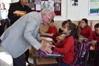 KÜRESEL ISINMA - Çevreci Başkan Şengöl'den Öğrencilere Çevreci Nesil Eğitim Seti
