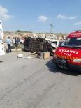DEVLET HASTANESİ - Didim'de Trafik Kazası; 4 Yaralı