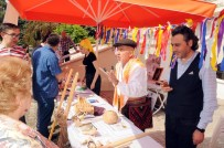 Erdemli'de Yörük Kültürü Tanıtım Stantlarına Yoğun İlgi