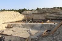 Hisarcık'ta İçme Suyu Deposu Yapım Çalışmaları