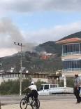 KAZDAĞLARI - Kazdağlarında Çöplük Yangını Ormanı Tehdit Ediyor