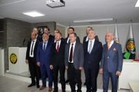 AHMET TÜRK - Kdz. Ereğli'de TSO Başkanlığına Keleş Seçildi