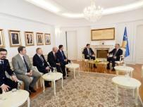 YAĞCıLAR - Kosova Cumhurbaşkanı, Ülkesindeki Türklerle Bir Araya Geldi