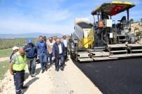 ÇAMLıCA - Kütahya'da Sıcak Asfalt Sezonu Başladı