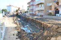 Lapseki'de Kanalizasyon İnşaatı Tamamlandı