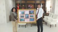SONER KIRLI - Müdür Acaroğlu'ndan Kaymakam Kırlı'ya Ziyaret
