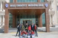 TOPLUM DESTEKLI POLISLIK - Öğrencilerden Polise Teşekkür Ziyareti