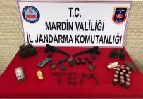 Ömerli'de PKK'ya Ait Mühimmat Ele Geçirildi