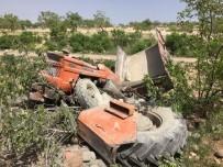 ADLİ TIP KURUMU - Şarampole Devrilen Traktörün Sürücüsü Hayatını Kaybetti
