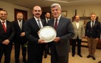 MİMARLAR ODASI - STK Temsilcilerinden Başkan Karaosmanoğlu'na Ziyaret