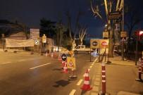 SÖĞÜTLÜÇEŞME - Tıbbiye Caddesi Trafiğe Kapatıldı
