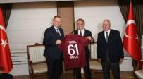 Trabzonspor'un Yeni Başkanı Ve Yöneticilerinden Ziyaretler