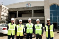 NAİM SÜLEYMANOĞLU - Türkiye'nin En Büyük Spor Kompleksinde Geri Sayım Sürüyor