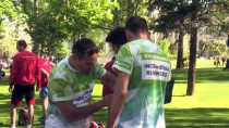 KANSERLE MÜCADELE - 70 Ülkeden 7 Bin Sporcu Belgrad'da Koştu