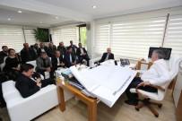 İMTİYAZ - Başkan Altuğ Ve Süs Bitkiciliği Yetkilileri Başkan Toçoğlu'nu Ziyaret Etti