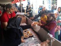 Binlerce Kişiye Türkistan Pilavı İkram Edildi