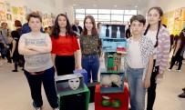 KADINA ŞİDDET - Çankayalı Çocukların Eseri Sanat Bianel'inde
