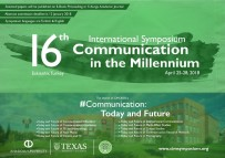 İletişimin Bugünü Ve Geleceği 16. Uluslararası Milenyumda İletişim Sempozyumunda Tartışılacak