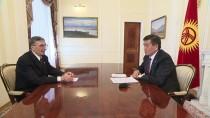 AZİZ SANCAR - Kırgızistan Cumhurbaşkanı Ceenbekov Sancar'la Görüştü