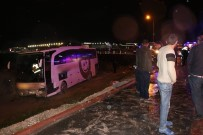 Konya'da Otobüs Kazası Açıklaması 18 Yaralı