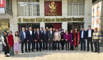 SİVİL DAYANIŞMA PLATFORMU - MİDDER, MASİDAP Heyetini Ağırladı