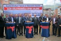 GÜRBÜZ KARAKUŞ - Naim Süleymanoğlu Spor Salonu'nun Temeli Atıldı