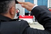 TURAN ÇAKıR - Ordulu Polise Samsun'da Son Görev