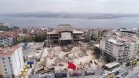 SİNEMA SALONU - (Özel) Yıkımı Devam Eden Atatürk Kültür Merkezi'nin Son Durumu Havadan Görüntülendi