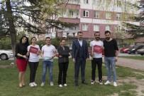 SÜLEYMAN ŞAH - Sedat Kılınç İnşaat AŞ Sokak Hayvanlarını Sahipsiz Bırakmadı