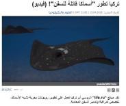 Silahlı İnsansız Deniz Aracı 'Wattozz' Dünya Basınında