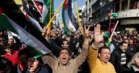Ürdün'de Gazze'ye Destek Yürüyüşü