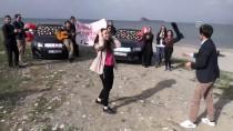 AKDAMAR ADASı - Van Gölü Kıyısında Sürpriz Evlenme Teklifi